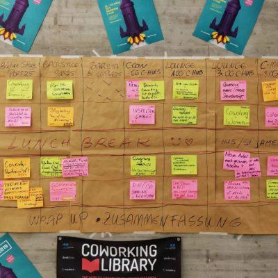 Barcamp Coworking Sessionplan Cowork2019