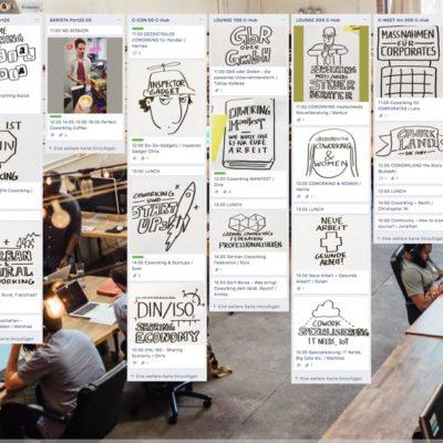 BarCamp Dokumentation auf Trello
