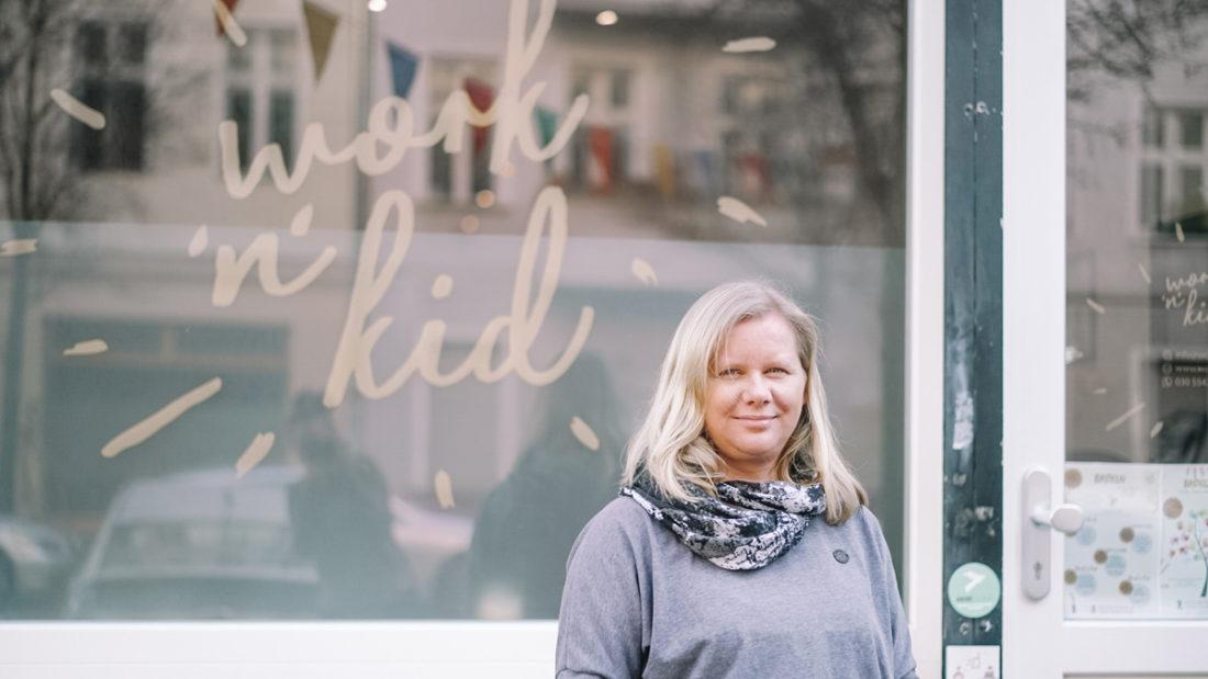 Anne Rübsam-Rivierre vom Work'n'Kid in Berlin-Friedrichshain