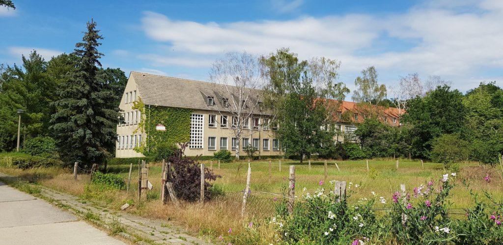 Die ehemalige Schule in Wartenburg (Elbe) – seit 2003 geschlossen. (Foto: Christer Lorenz)
