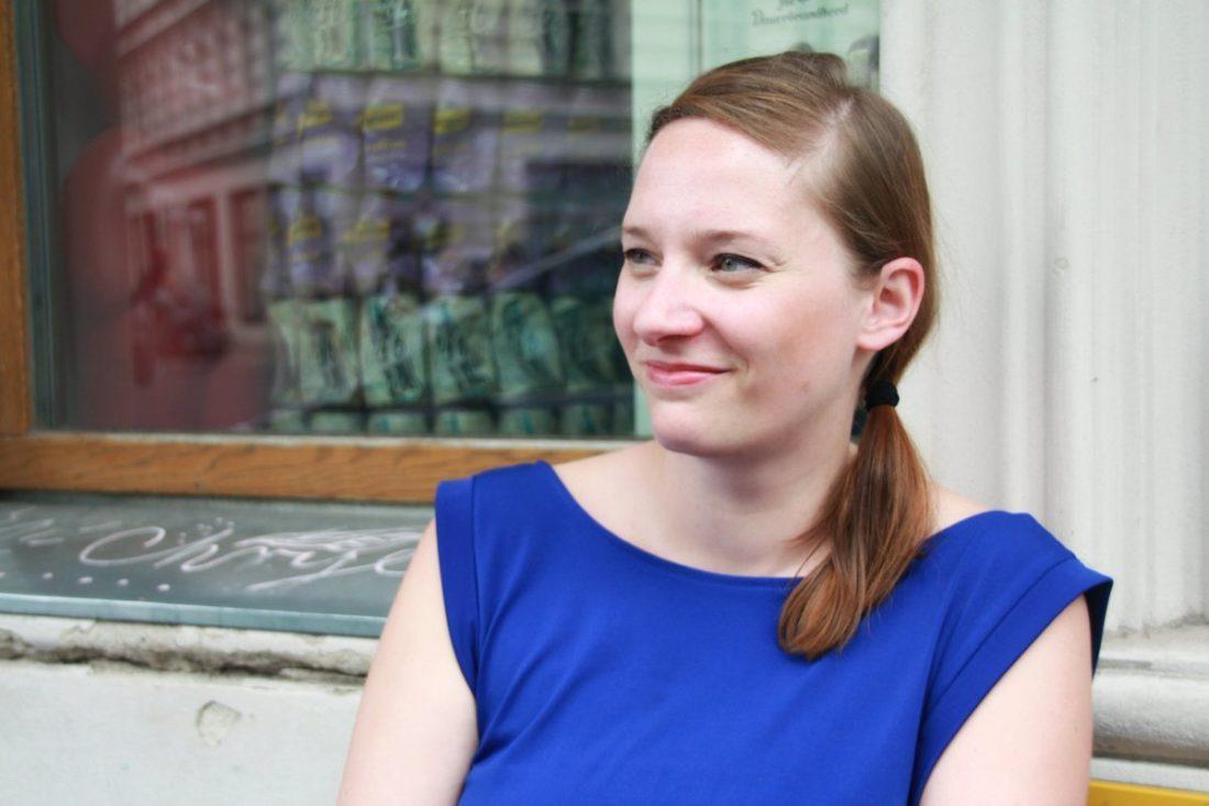 Johanna Voll erforscht Coworking (Bild: Sarah Rüger)