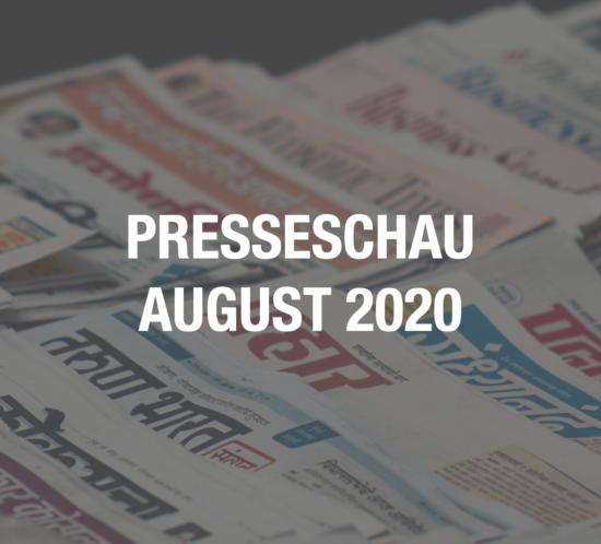 Presseschau Coworking August 2020