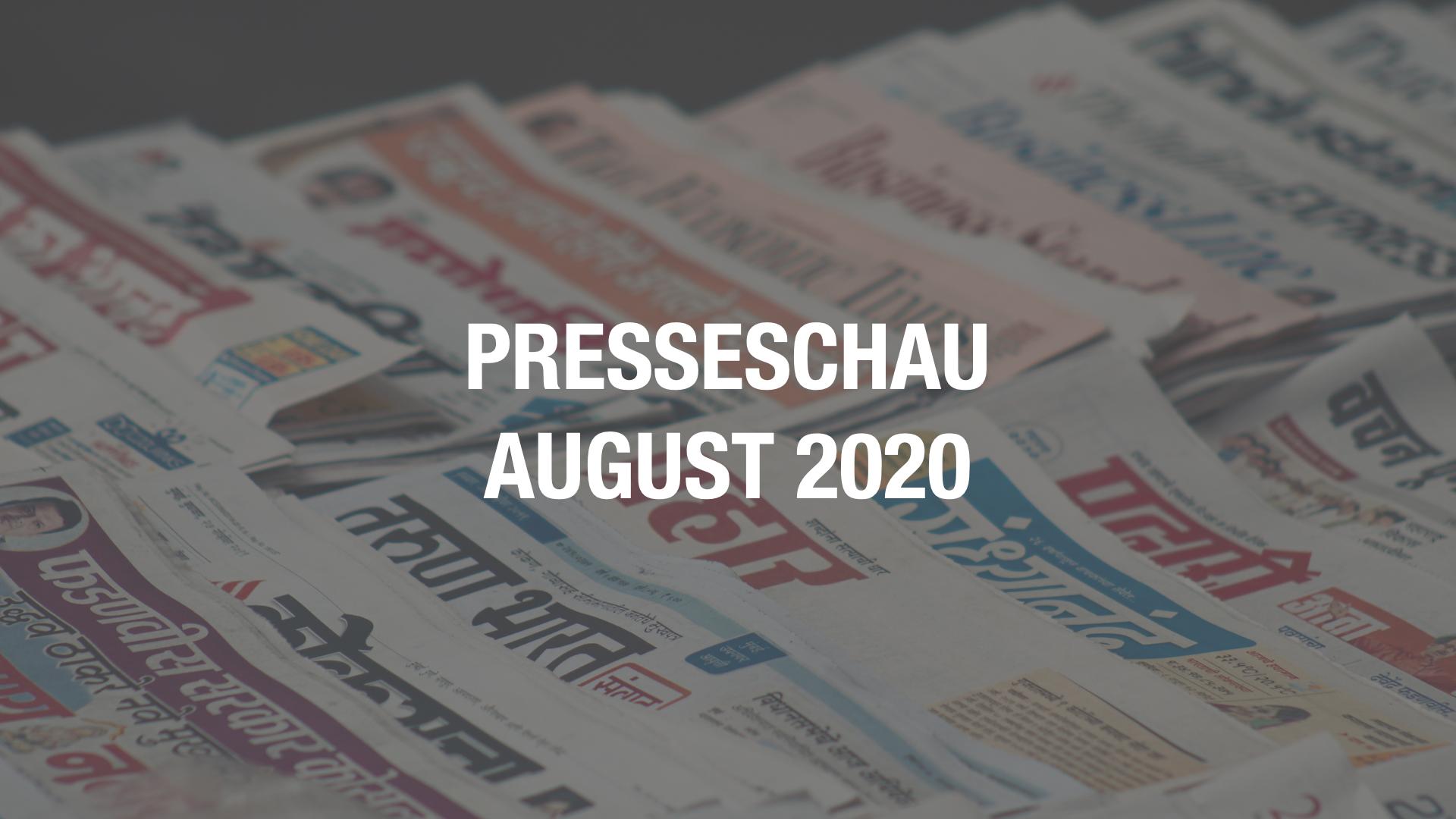 Presseschau: Coworking im August 2020
