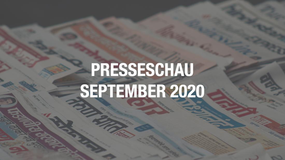 Presseschau Coworking September 2020