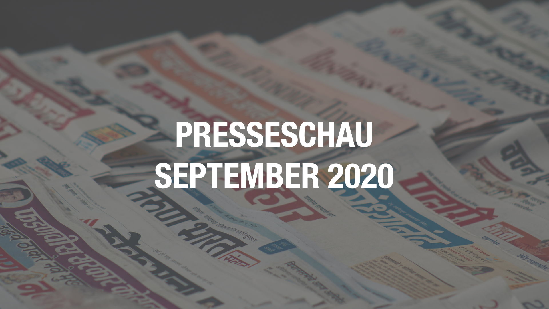 Presseschau: Coworking im September 2020