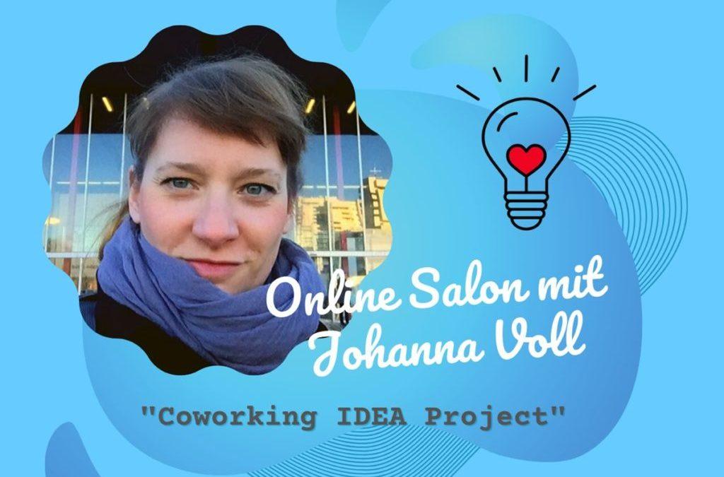 Online Salon zum Coworking IDEA Project